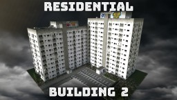 Residential Building Block Flat (worn down, unfurnished) Minecraft Map & Project