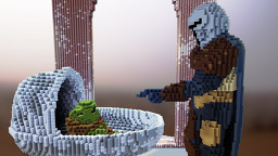 Baby Yoda and the Mandalorian Minecraft Map & Project