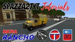 Matra Simca Talbot Rancho Minecraft Map & Project