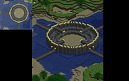 Arena/Colosseum/Stadium Minecraft Map & Project