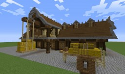 I furnished my barn!... Medieval style... Minecraft Map & Project