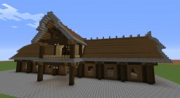 Empty Medieval Warehouse or Stables..or a home! Minecraft Map & Project