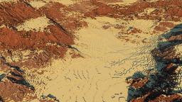 Wild Western Terrain - 1024 x 1024 Minecraft Map & Project
