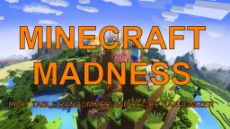 Minecraft madness Minecraft Data Pack