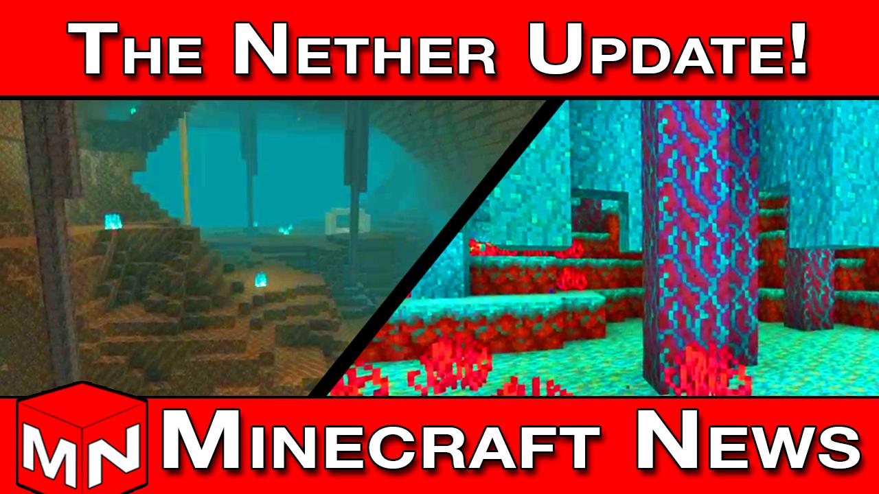 Minecraft News | Minecraft 1.15 Nether Update (Minecon ...