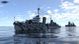 Minsk 1:1 Scale Leningrad class Minecraft Map & Project