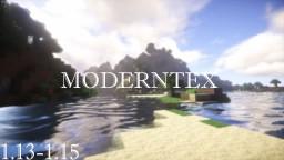ModernTex v1 [1.13 - 1.15] [512x512] Minecraft Texture Pack