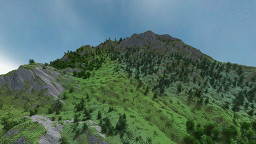 Big Mountain Terrain - By Aerius Minecraft Map & Project