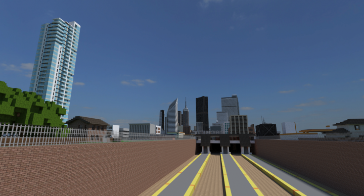 View of the city from Rachet Railway Station