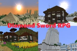 Diamond Sword  RPG 1.5 Minecraft Map & Project