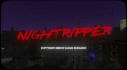 NIGHTRIPPER - AN INTERACTIVE HORROR EXPERIENCE Minecraft Map & Project