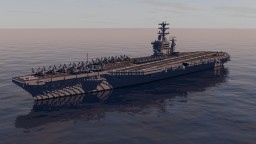 USS Nimitz (CVN-68) 1:1 Scale | Download Minecraft Map & Project