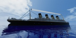 Minecraft 1:1 Scale RMS Olympic (1911) - Exterior Only Minecraft Map & Project