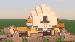 Shrek's Onion Carriage Minecraft Map & Project