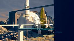 Undiscovered Civilizations Organic Sci-Fi Minecraft Map & Project