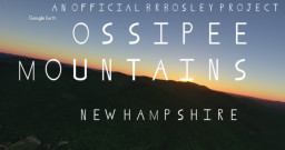 Ossipee Mountains (New Hampshire) Minecraft Map & Project
