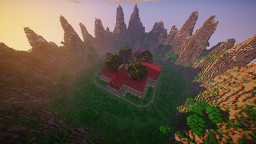 Minecraft Server Spawn Area - Minecraft Spawn Made for the Sunset Economy Server Minecraft Map & Project
