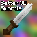 Better 3D Swords (Discontiued) Minecraft Texture Pack