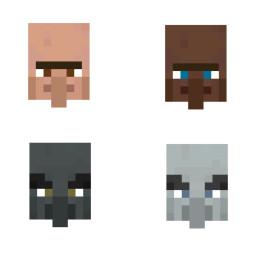 Villager biome bedrock edition v1.14.0.6 Minecraft Texture Pack
