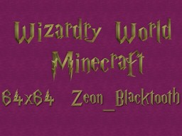 Wizardry World 1.14.4 V1 64X64 Minecraft Texture Pack