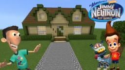 Jimmy Neutron house Minecraft Map & Project