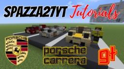 Porsche Carrera GT Minecraft Map & Project