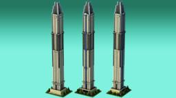 MARINA 101, second tallest skyscraper in DUBAI! Minecraft Map & Project