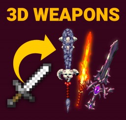 3D Fantasy Weapons CIT Minecraft Texture Pack