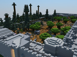 PvP map for 2 Teams Minecraft Map & Project