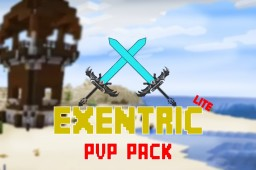 Exentric PvP and Bedwars Pack. Lite 1.13-1.15 Minecraft Texture Pack