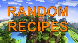 Random recipes Minecraft Data Pack