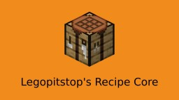 LPS Recipe Core (NBT Crafting API) Minecraft Data Pack