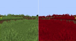 Red World MiniPack - Get Ready For Halloween! Minecraft Texture Pack
