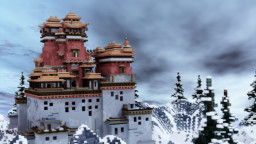 Lobby / Asia-Styled Fortress Minecraft Map & Project