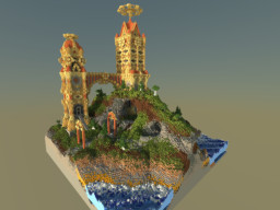 Temple of W h e e l | Plot Build Minecraft Map & Project