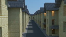 20th Century Residential Area Minecraft Map & Project