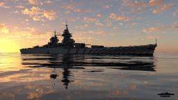Battleship Richelieu 1:1 Scale Minecraft Map & Project