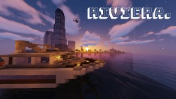 Riviera - A tropical, prosperous redstone city - BIG UPDATE Minecraft Map & Project