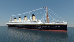 "RMS Olympic 1935 ""The Old Reliable"" Minecraft Map & Project"