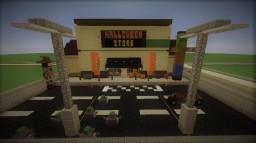 Halloween Superstore Spirit Minecraft Map & Project