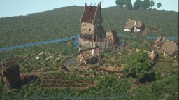 Roseville - Small Medieval Village Minecraft Map & Project