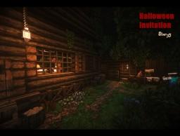 『Halloween Invitation』Story5 Minecraft Map & Project