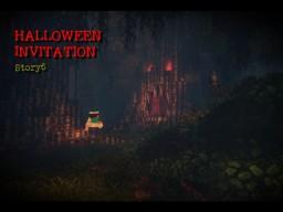 『Halloween Invitation』Story6 Minecraft Map & Project