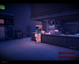 『Halloween Invitation』Story7 Minecraft Map & Project