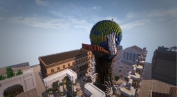 Rom huge soldier statue + Timelapse Minecraft Map & Project