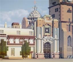 Iglesia Parroquial de Sagrario, Plaza Mayor, Lima, Peru Minecraft Map & Project