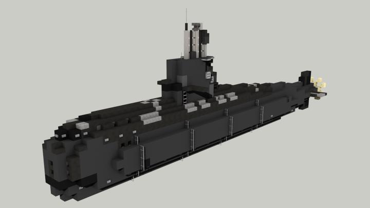 Popular Server Project : Argentinian Submarine San Juan 1:1 (Tribute)