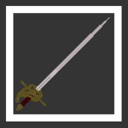 Custom 3D Sword (Rapier) Minecraft Texture Pack