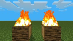 Flamier Flames (new fire model) Minecraft Texture Pack