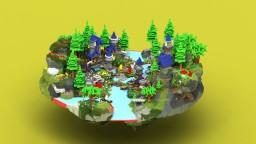 Hub - FlowerTown Minecraft Map & Project